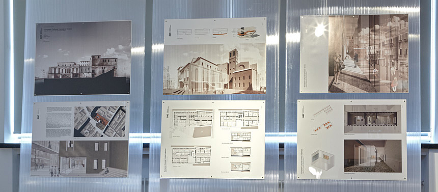 European Cultural Centre in Venice. Designing in Dialogue between Traditional and Modern